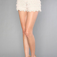 The Lovely Crochet Short : Free People : Karmaloop.com - Global Concrete Culture