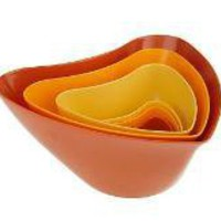 Rachael Ray Set of 6 Nesting Hipster Bowls