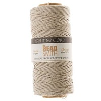 Hemp Twine Bead Cord 1mm 197 Feet NATURAL 42662