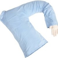 Amazon.com: Deluxe Comfort Boyfriend Body Pillow, Blue and White: Home & Kitchen