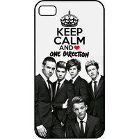Little Things Keep Calm Love One Direction 1D Apple iPhone 4 4s Case Cover