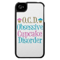 Cute Cupcake iPhone 4 Case from Zazzle.com