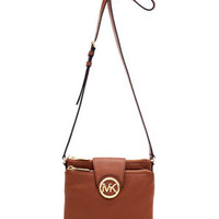 MICHAEL Michael Kors  Large Fulton Pebbled Crossbody - Michael Kors
