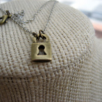 The Secret Lock Necklace