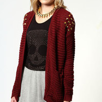 Melanie Studded Cardigan
