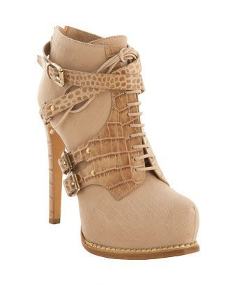 Christian Dior dune leather 'Guetre' croc print ankle booties | BLUEFLY up to 70% off designer brands