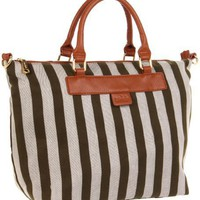 Co-Lab by Christopher Kon Reese Small Stripe-1103 Tote - designer shoes, handbags, jewelry, watches, and fashion accessories | endless.com