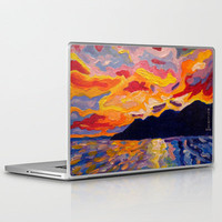 West Coast Sunset  Laptop & iPad Skin by Morgan Ralston | Society6