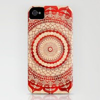 omuly?na red gallery mandala iPhone Case by Peter Patrick Barreda | Society6