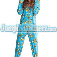 Garfield and Odie Pajamas Footie PJs Onesuit One Piece Adult Pajamas