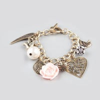 FULL TILT Epoxy Rose Charm Bracelet 212615621 | Bracelets | Tillys.com
