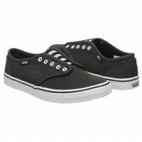 Athletics Vans Women's Atwood Lo Black / White FamousFootwear.com