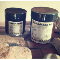 2oz  Skin Remedy...Organic and wildcrafted skin remedy salve