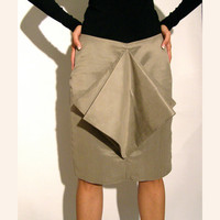 $69.00 Grey skirt pleated formal wear by Relogyyy