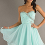 New Style Short hand beads Evening Prom Gowns party/cocktail/homecoming dress