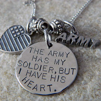 The Army has my Soldier But I have His Heart by WireNWhimsy