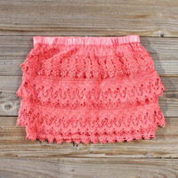 Misty Melon Lace Skirt, Women&#x27;s Sweet Country Clothing