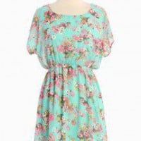 Afternoon Tea Floral Dress | Modern Vintage Dresses