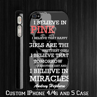 Audrey Hepburn Quotes Custom iPhone 4 4S case, iPhone 5 Case, Samsung Galaxy S2 case, Samsung Galaxy S3 case