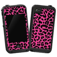"Amazon.com: Pink Leopard ""Protective Decal Skin"" for LifeProof 4/4S Case: Electronics"