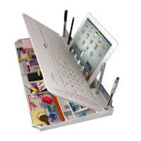 Amazon.com: The Restt Bluetooth Keyboard-6 Products in ONE! iPad Stand, Phone Stand, Pen Stand, &amp; More..: Computers &amp; Accessories
