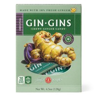 The Ginger People Original Ginger Chews, 4.5-Ounce Box