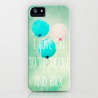 i love you to the moon and back iPhone Case by Sylvia Cook Photography | Society6