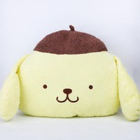 Purin Medium Cushion: Brown Beret