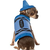 Blue Crayola Crayon Dog Costume - Party City