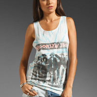 One Teaspoon Tie Dye Brooklyn Boys Spike Tank in Blue from REVOLVEclothing.com