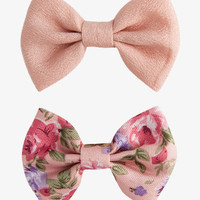 Georgette Bow Hair Clips | FOREVER 21 - 1036144663