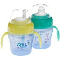 Avent 7oz Magic Trainer Cup Twin Pack &quot;colors may vary&quot;