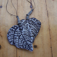 Black and White Leaf Set by Medusa13 on Etsy