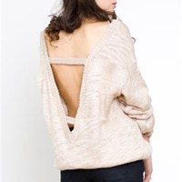 Finders Keepers Bright Lights Knit - Open Back Tops - $107