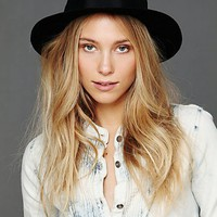 Free People Wide Brim Fedora