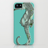 Seahorse iPhone Case by Rachel Russell | Society6