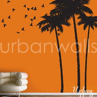 Vinyl Wall Sticker Decal Art - Palm Tree
