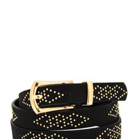 studded-belt BLACKGOLD - GoJane.com