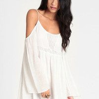 Overzealous Off Shoulder Dress - $48.00 : ThreadSence, Women&#x27;s Indie &amp; Bohemian Clothing, Dresses, &amp; Accessories