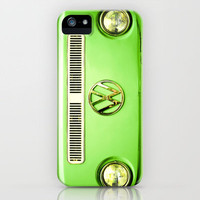 Summer of Love - Groovy Green iPhone Case by Olivia Joy StClaire | Society6