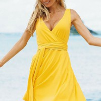 Daytime Jersey Sleeveless Wrap Dress - Victoria&#x27;s Secret