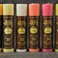 Sun Bum SPF 30+ Lip Balm .15 oz Sunscreen w Aloe Vera and Vitamin E