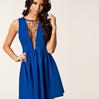 Open Mesh Mandy Dress, Paprika