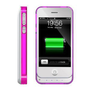 Amazon.com: ICLiC 30 pin Apple iPhone 4 4S External Extend Battery Case Cover bumper 1450mAh White: Cell Phones & Accessories