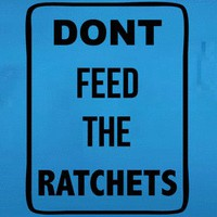 AMERICAN APPAREL DONT FEED THE RATCHETS RATCHET FUNNY T SHIRT S M L XL XXL 3XL