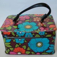 VINTAGE Mod Lunch Box by HouseOfBabylon on Etsy