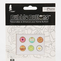 Urban Outfitters - Bubble Home Button Sticker - Pack Of 6