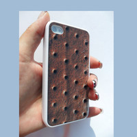 ICE CREAM SANDWICH Rubber iPhone Case iPhone 4 iPhone by caseOrama