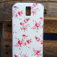 T Mobile Samsung Galaxy S2 Floral Yellow Case