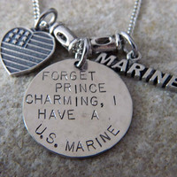 Forget Prince Charming I have a US Marine by WireNWhimsy on Etsy